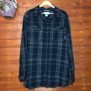 Columbia button down shirt size XXL Plaid